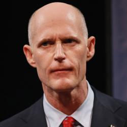 Florida Governor Rick Scott.