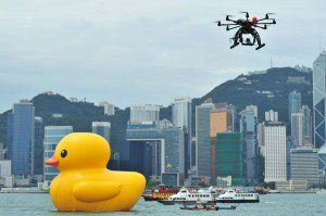 Duck and Drone