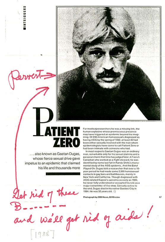 Patient Zero and Global Health